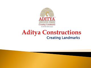 1700 Sft Luxury Apartments at Aditya Beaumont By Aditya Constructions