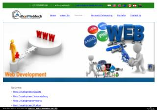 Highlight Your Company with Web Development