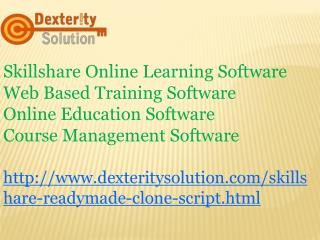 Online Education Software | Course Management Software