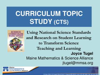 CURRICULUM TOPIC STUDY CTS