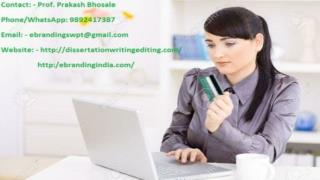 eBranding India provides the best Market research services in Indore