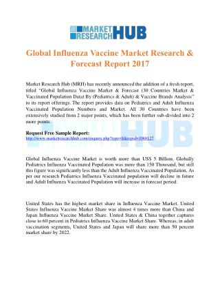 Global Influenza Vaccine Market Research & Forecast Report 2017