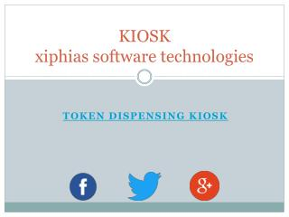 Token Dispensing kiosk - xiphias