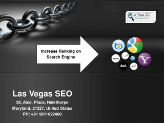 Get Ranking on Search Engine Appropriate SEO Company in Las Vegas