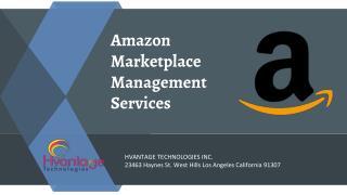 Amazon Marketplace Management Services
