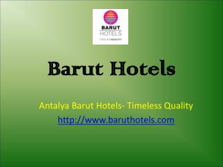 Antalya Hotels - Best Hotels in Turkey
