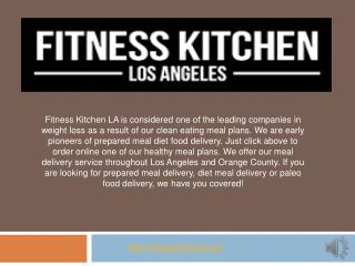 Healthy Meal Delivery | Meal Delivery Services |Meal Delivery Los Angeles