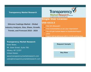 Silicone Coatings Market - Global Industry Analysis, Size, Share, Growth, Trends, and Forecast 2024