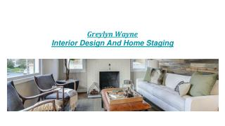 Interior Design Consultant |Home Staging and Decorating Company |Realtor |Real Estate Company |Custom Home |Property Sta