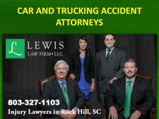 CAR AND TRUCKING ACCIDENT ATTORNEYS