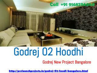 Godrej O2 Godrej New Project at Hoodi Bangalore