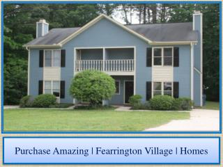 Purchase Amazing | Fearrington Village | Homes