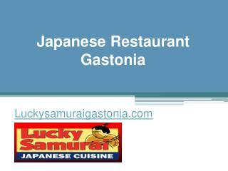 Japanese Restaurant Gastonia - Luckysamuraigastonia.com