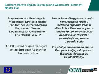 Southern Morava Region Sewerage and Wastewater Treatment Master Plan