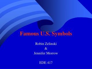 Famous U.S. Symbols