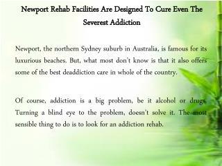 Rehab Facilities Newport