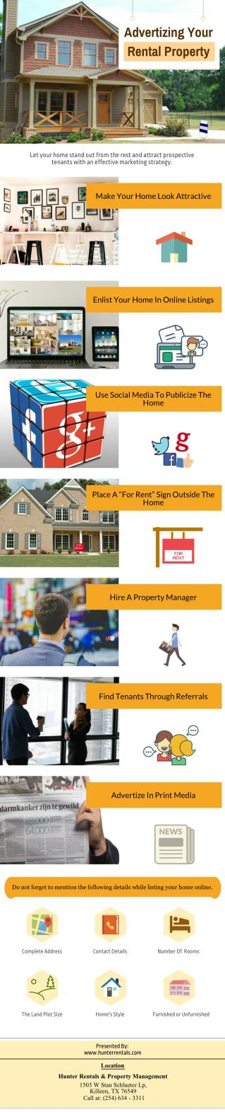 Advertizing Your Home Rental Property