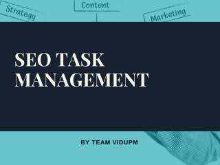 SEO Task Management Tool