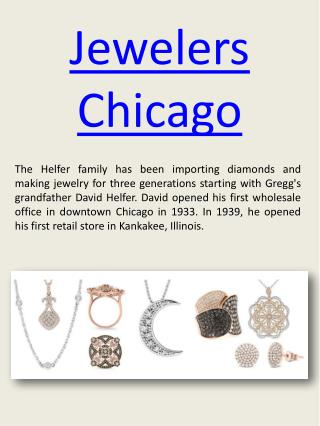 Jewelers Chicago