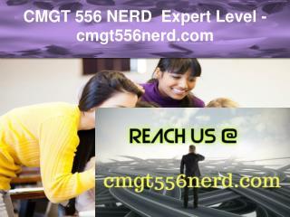 CMGT 556 NERD  Expert Level –cmgt556nerd.com