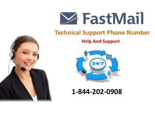 Fastmail Helpline and Technical Support Number 1-844-202-0908 for United States