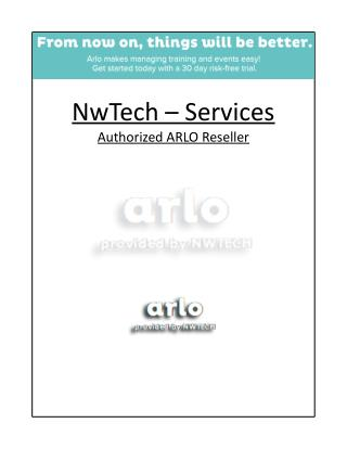 Nwtech-Services - Authorized Arlo Reseller