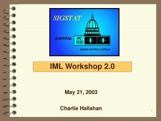 SAS IML Workshop 2.0