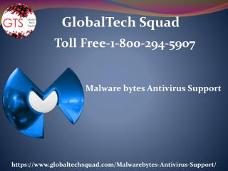 Malwarebytes Antivirus Support | Toll Free 1-800-294-5907