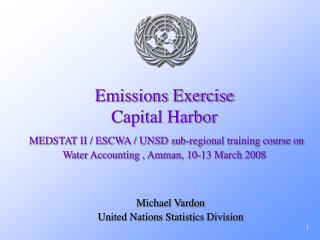 Emissions Exercise Capital Harbor    MEDSTAT II