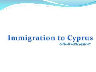 Cyprus visa consultant
