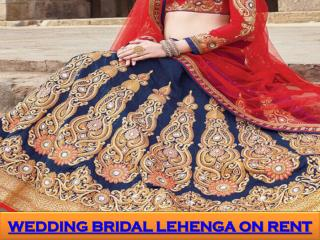 Wedding Bridal Lehenga on Rent in mumbai