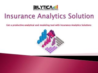 Insurance Analytics Solutions: Tailored Solutions for Insurance Company
