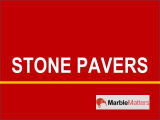 Stone Pavers - Marble Matters