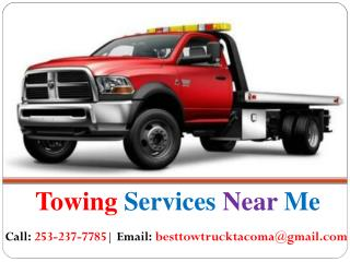 Best Tow Truck Service