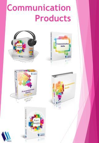Communication Training Products Catalog