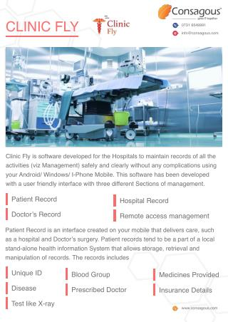 Clinic Fly Software