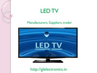 LED TV manufacturers: Green Light electronics