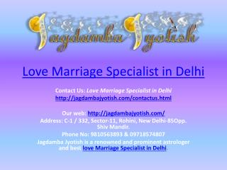Love marriage specialist in delhi-Best_Astrology