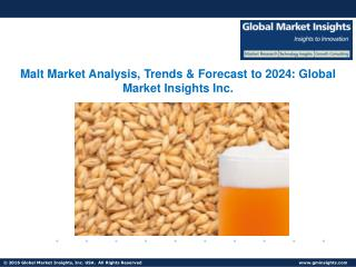 Malt Market Growth, Analysis, Statistics, Trends, Forecast Report 2017-2024