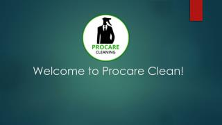 Procare Cleaning Service  - Professional Cleaners