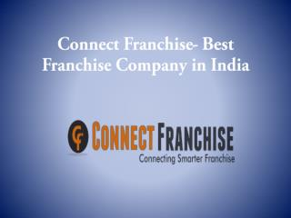 Connet Franchise - Best Franchise Company in India