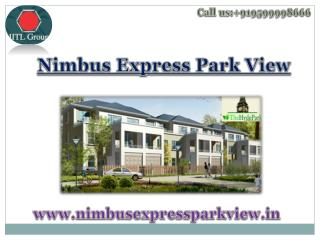Nimbus Express Park View 2 Floor plan - Nimbusexpressparkview.in
