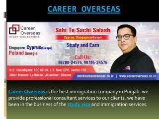 Career Overseas   Study Visa Consultant   Student Visa in Chandigarh
