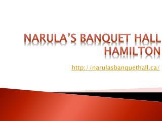 Banquet Hall Cambridge