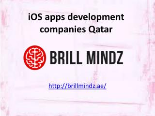 iphone app development companies Qatar