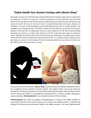 Buy Librium alcohol withdrawal 25mg Online, uk, USA @ medsbuy247