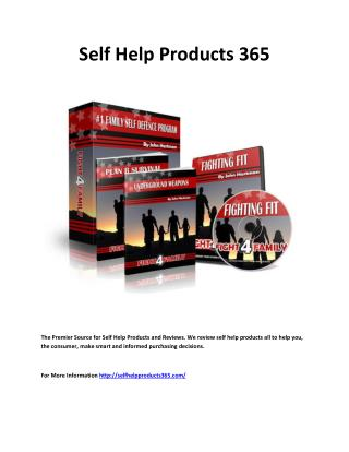 Self help products 365