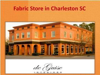 Fabric Store in Charleston SC