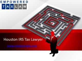 Pearland Tax Attorney
