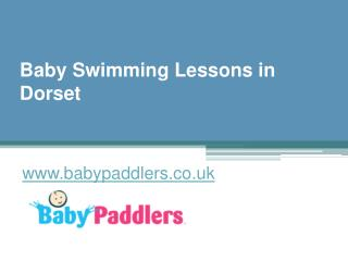 Baby Swimming Lessons in Dorset - www.babypaddlers.co.uk